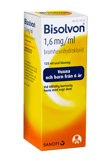 Bisolvon® 1,6 mg/ml oral lösning
